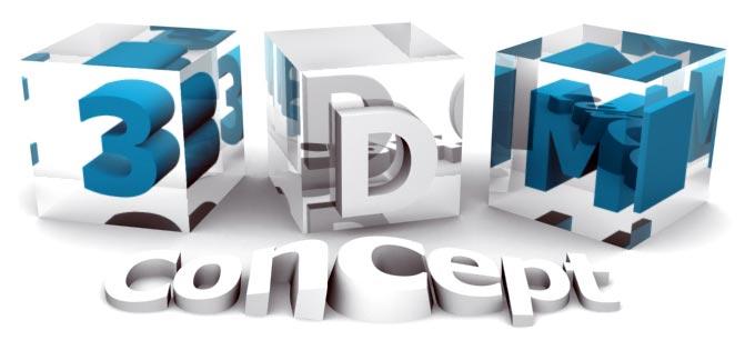 Logo 3DM-Concept - Webdesigner